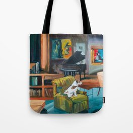 Frasier's apartment Tote Bag