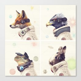 Star Team - Legends of Lylat Canvas Print