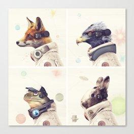 Star Team - Legends of Lylat Canvas Print