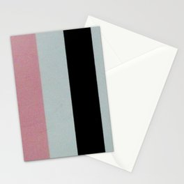 Neopolitan stripes Stationery Cards