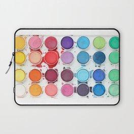 Messy Watercolors Laptop Sleeve