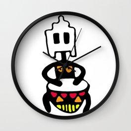 Drummer 2 Wall Clock