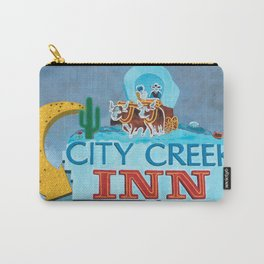 City Creek Motel Carry-All Pouch