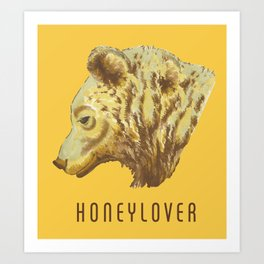 Honeylover Art Print