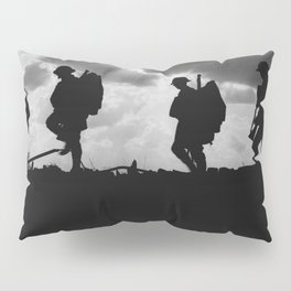Soldier Silhouettes - Battle of Broodseinde Pillow Sham
