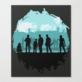 The Walking Dead: Prey Canvas Print