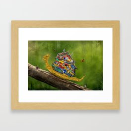 Forest Hike Framed Art Print