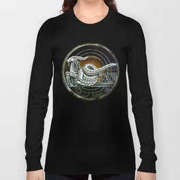 """Astrological Mechanism - Capricornus"" Long Sleeve T-shirt"