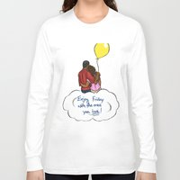 friday Long Sleeve T-shirts featuring FRIDAY by RM2 Designs