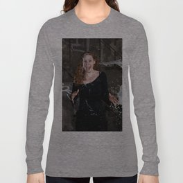 Emji - Le Grand Spectacle du Lait // The Grand Spectacle of the Milking Long Sleeve T-shirt