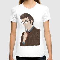 david tennant T-shirts featuring Doctor Who David Tennant by  Steve Wade ( Swade)
