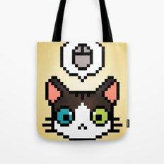 Pixel cat Tote Bag
