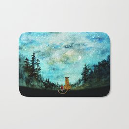 Calvin And Hobbes Bath Mat