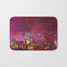 Matilda and Bouru - Alien Planet Bath Mat