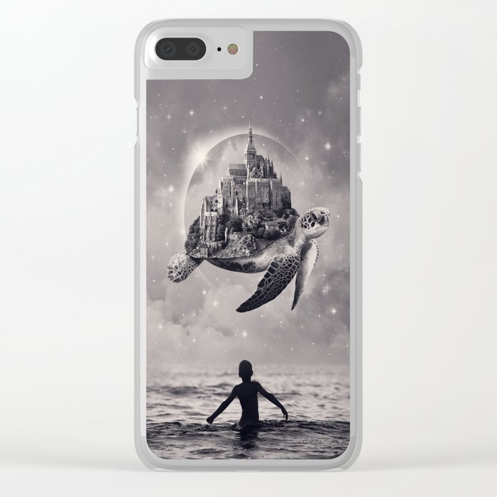 Moments of Bliss Clear iPhone Case