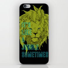 It's Like a Jungle Sometimes... iPhone & iPod Skin