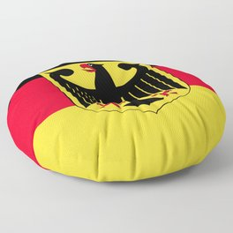 Germany flag emblem Floor Pillow