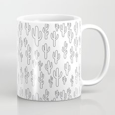 Cactus in White Palette Mug