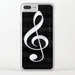Just Treble Clear iPhone Case