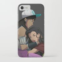 korrasami iPhone & iPod Cases featuring Korrasami: Stay the Night by Leonard Vindel