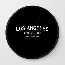 Los Angeles - CA, USA (Arc) Wall Clock