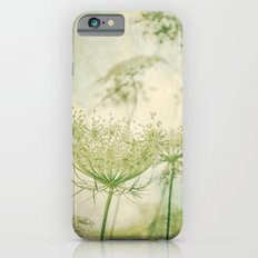 Sanctuary -- White Queen Anne's Lace Meadow Wild Flower Botanical iPhone 6s Slim Case