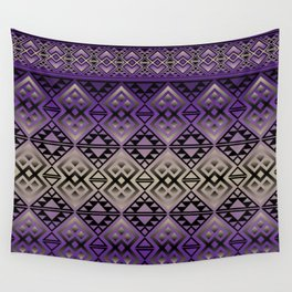 The Lodge (Purple) Wall Tapestry