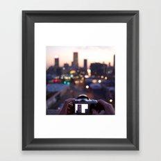 Johannesburg Framed Art Print