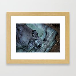 Yorick Framed Art Print