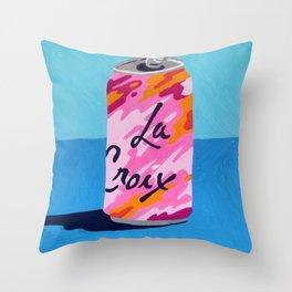 Ode to LaCroix Throw Pillow