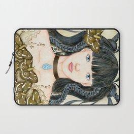 Moth Girl Laptop Sleeve