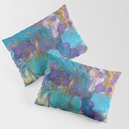 Blue Blossom Pillow Sham