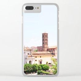 187. Forum Campanile, Rome Clear iPhone Case