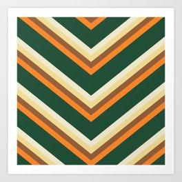 Mexican poncho pattern Art Print