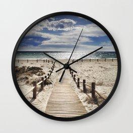 """""""Cabo de Gata"""". Square.  Retro serie Wall Clock"""