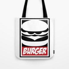 Obey Burger Tote Bag