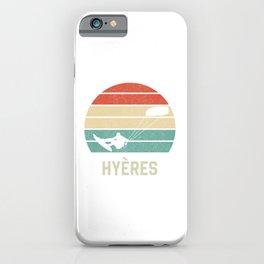 Hyeres Kiteboarder TShirt Kite Boarding Shirt Kite Surfing Gift Idea  iPhone Case