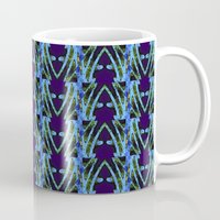 neon Mugs featuring NEON by Wagner Campelo