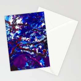 contorted vagary Stationery Cards