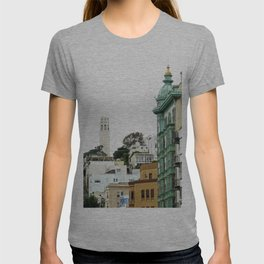 View of the Coit Tower T-shirt