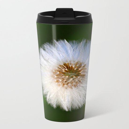 Softness Dandelion  Metal Travel Mug