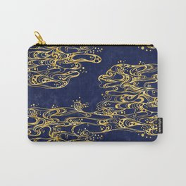 The Ripples <mystical gold> Carry-All Pouch
