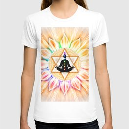 In Meditation With Chakras II T-shirt