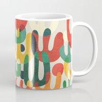 cactus Mugs featuring Cactus by Picomodi