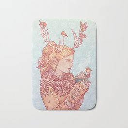 December Lady Bath Mat
