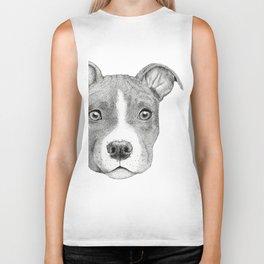Staffordshire Terrier Dog Biker Tank