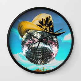 New Sheriff in Town Wall Clock