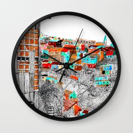 Valparaíso Wall Clock