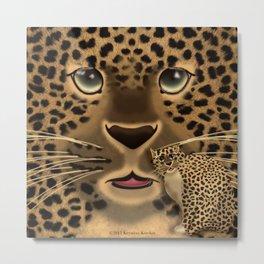 Leopard Spots Metal Print