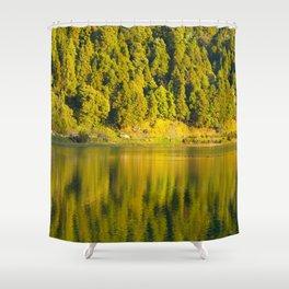 Furnas lake Shower Curtain